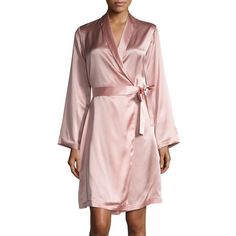 La Perla Women's Silk Robe (23.885 RUB) ❤ liked on Polyvore featuring intimates, robes, apparel & accessories, bath robes, silk bath robes, la perla robe, silk robe and dressing gown