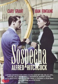 Sospecha (1941) EEUU. Dir: Alfred Hitchcock. Suspense. Romance - DVD CINE 55