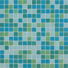 Kaleidoscope  Colorways Glass Mosaic Tile Blends   AQUARIUS BLEND $8.95 per sheet at MosaicTileSupplies.com