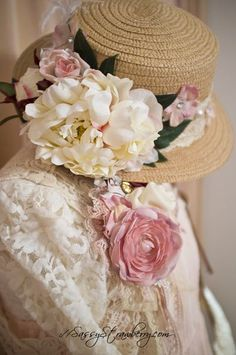 She said she needed a hat for summer.  I hope she enjoys this one. •✿ڿڰۣ✿•