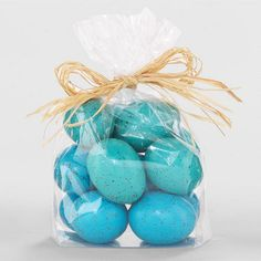 Decorative Easter Robin's Eggs at Cost Plus World Market >>#WorldMarket Easter Style Hunt Sweepstakes. Enter to win a 1K World Market gift card.