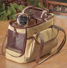 Eco Friendly Pet Tote, on sale for just $30.00! Only 1 left at http://doggyinwonderland.com/item_733/Eco-Friendly-Pet-Tote.htm