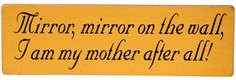 Mirror, mirror on the wall, I am my mother after all! *** Check out the image by visiting the link. (This is an affiliate link) #Mirrors
