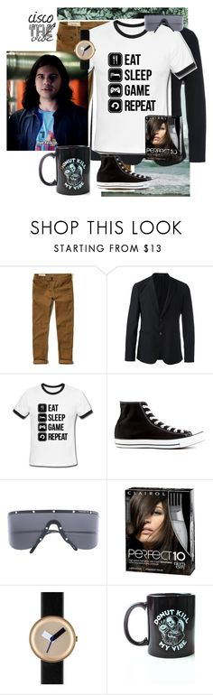 """Cisco Ramon aka the Vibe"" by mg1023 ❤ liked on Polyvore featuring Shell Rummel, Hollister Co., Emporio Armani, Converse, Porsche Design, Nomad, Pyknic, men's fashion and menswear"