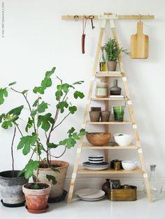 Image result for ikea ladder shelf ps 2014