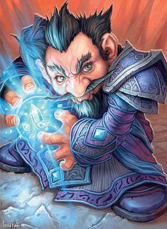 #wowtcg #warcraft #gnome #mage