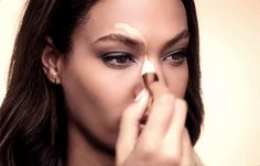 Instantly contour your face by simply swiping a number 3 over your cheeks. | 7 Ridiculously Easy Makeup Tips That Will Simplify Your Life