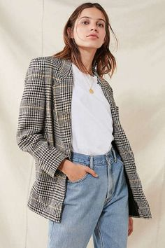 Master the Plaid Jacket Trend With This Under-$100 Find