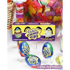 Cadbury Creme Eggs: 4-Piece Box