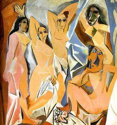 Las Señoritas de Avignon #Picasso #Externo #Mujeres