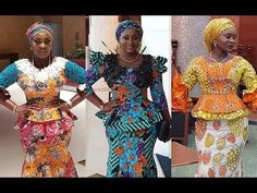 African Fashion Compilation Lovely Skirt and Blouse, Sort and Long Gown Styles Ankara Styles For Men, Ankara Gown Styles, Latest Ankara Styles, Ankara Blouse, Ankara Skirt, Ankara Tops, Beautiful Ankara Gowns, African Blouses, Ankara Jackets