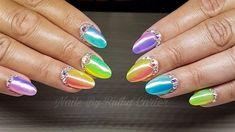 Day 64: Rainbow Bright Nail Art - Nails Magazine