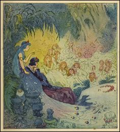from Johnny Gruelle'sMy Very Own Fairy Stories, 1917
