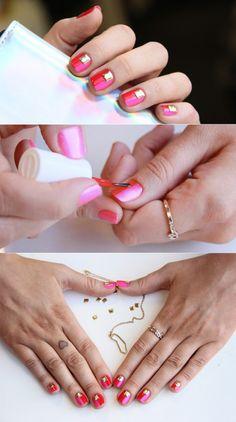 Cult Cosmetics- Cali Clash Manicure