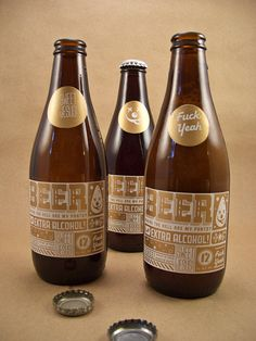 """The Best. Label. In the. World. Oh my GOSH! Just switch the """"coin"""" to indicate the beer style/name"""