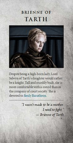 Game of Thrones images Brienne of Tarth wallpaper and background photos