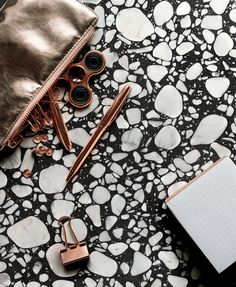 Porcelain stoneware wall/floor tiles terrazzo effect SHARDS Shards Collection By CERAMICA FONDOVALLE