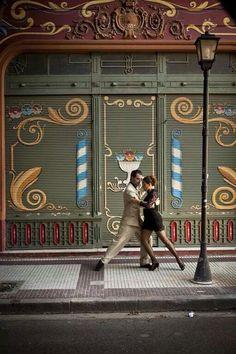 Tango in Buenos Aires. Argentina