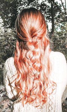 Medium Hair Styles, Curly Hair Styles, Vsco, Aesthetic Hair, Grunge Hair, Bad Hair, Hair Looks, Pink Hair, Hair Inspo