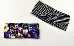 Du bist Näh-Anfänger und suchst nach Deinem ersten Projekt? Nähe Dir ein einfaches Turban-Haarband!