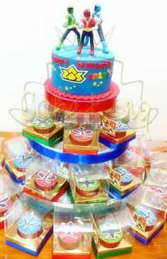 power ranger birthday cake ideas   Power Ranger Samurai