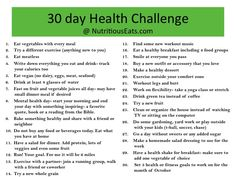 Lacking Motivation? Join My 30 Day Health Challenge!