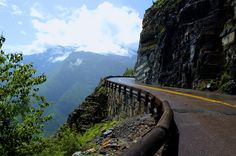 Going-to-the-Sun-Road, Glacier National Park, Montana