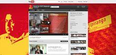 Youtube seguindo o mesmo conceito das outras redes sociais.