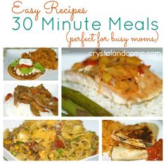 Weekly Meal Plan: Using Easy Recipes and 30 Minute Meals (Week 176) #howtomealplan