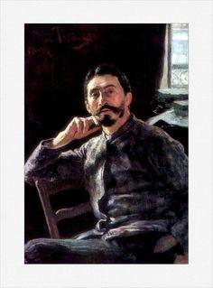 Il'ja Efimovič Repin · Autoritratto · 1894 · Tretyakov Gallery · Moscow
