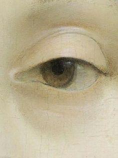 Leonardo da Vinci, Ginevra de'Benci- detail