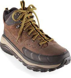 HOKA ONE ONE Men's Tor Summit Mid Waterproof Hiking Boots Brown/Golden Rod 13