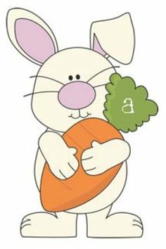 Bunny clipart rabbit outline - pin to your gallery. Explore what was found for the bunny clipart rabbit outline Rabbit Clipart, Easter Paintings, Classroom Freebies, Diy Ostern, Bunny Art, Spring Activities, Alphabet Activities, Applique Designs, Easter Bunny