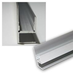 1m Aluminium-Profil Blende fü LED-Stripes eloxiert