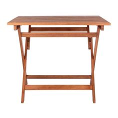 """SAFAVIEH Outdoor Living Kresler Folding Table - 35.4""""x35.4""""x29.5"""" - On Sale - Overstock - 29593358 Acacia, Wooden Furniture, Outdoor Furniture, 3 Piece Bistro Set, Decoration, Drafting Desk, Dining Bench, Outdoor Living, Home And Garden"""