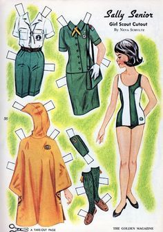 1950s paper dolls betsy mccall - Google Search