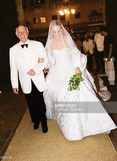 Lauren Santo Domingo Wedding Davis Walks Down