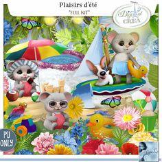 Plaisirs d'été Kit (PU) by Louise L