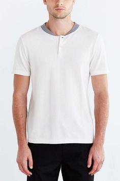 life/after/denim Pique Henley Shirt