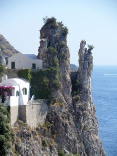 The Amalfi Coast + Capri. There are days, many days, I want to just run away from everything, and hide here, forever.
