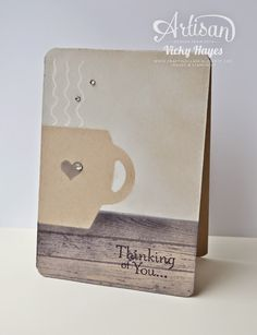 A bit of masking and sponging and Stampin' Up's Curvy Keepsake Box die - yes honestly!
