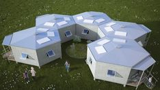 Hex House by Architects for Society refugee crisis housing architecture news