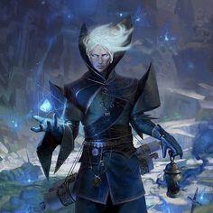 Gareth Malok - Powerful Death Sorcerer (Apostate)