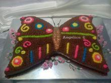 Buttercream Butterfly - Hettie Jordaan Celebration Cakes, Butterfly, Celebrities, Fashion, Celebs, Moda, La Mode, Fasion, Bowties