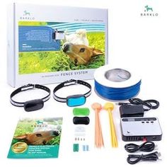 Barklo In-Ground Electric Fence for Dogs - Underground Pet Perimeter Containment Wireless Dog Fence, Alsatian, Wire Fence, Dog Barking, Pet Life, Big Dogs, Your Pet, Pets, Electric