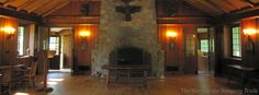The Memorial Room in the Bucklin Memorial Building at Camp #Yawgoog.  A Facebook cover photo by David R. Brierley.