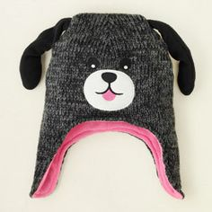 dog knit hat from Children's Place