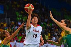 日本女子、8強決定 :フォトニュース - リオ五輪・パラリンピック 2016:時事ドットコム