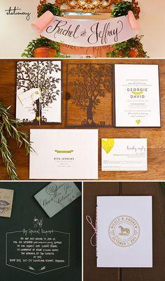 stationery by Lovestruck Events, via Flickr