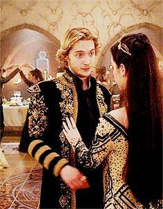 love the way she touches his hand and he touches hers it is so sweet